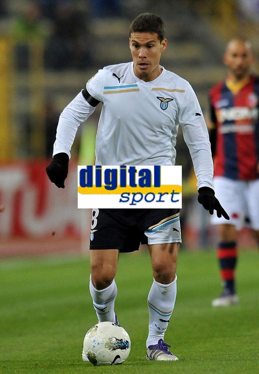 Anderson HERNANES (Lazio)<br /> Bologna 23/10/2011 Stadio &quot;Dallara&quot;<br /> Serie A 2011/2012<br /> Football Calcio Bologna Vs Lazio<br /> Foto Insidefoto Alessandro Sabattini