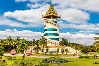 National Races Village park  in Yangon (Rangoon) in Myanmar (Burma)