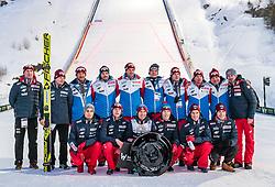 18.03.2018, Vikersundbakken, Vikersund, NOR, FIS Weltcup Ski Sprung, Raw Air, Vikersund, Finale, im Bild Gesamtsieger Kamil Stoch (POL) // Overall Winner Kamil Stoch of Poland<br />  during the 4th Stage of the Raw Air Series of FIS Ski Jumping World Cup at the Vikersundbakken in Vikersund, Norway on 2018/03/18. EXPA Pictures &copy; 2018, PhotoCredit: EXPA/ JFK
