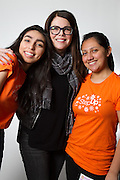 Mentor Lauren Graham, Mentees Nicolle, Amber