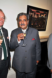 HIS HIGHNESS MAHARAJA GAJ SINGH I I OF MARWAR- JODHPUR at a party to launch the Indian Head Injury Foundation held at Thomas Gibson Fine Art Ltd. 31 Bruton Street, London on 16th June 2009