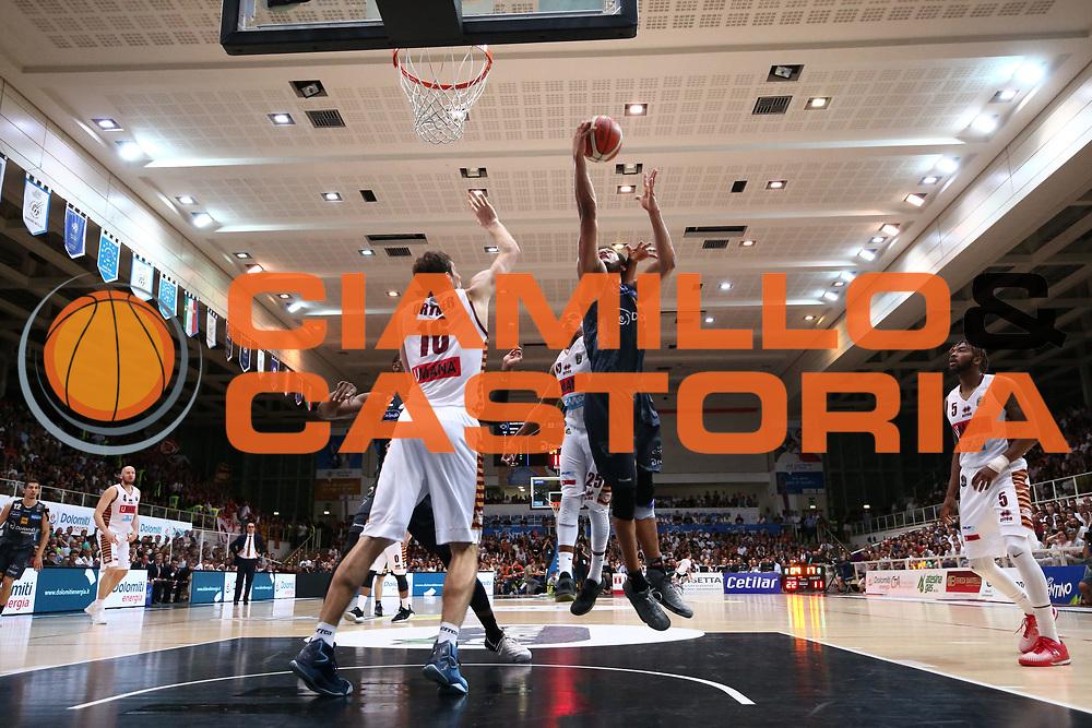 Shavon Shields<br /> Dolomiti Energia Aquila Basket Trento - Umana Reyer Venezia <br /> Lega Basket Serie A 2016/17 Finali Gara 04<br /> Trento, 16/06/2017<br /> Foto Ciamillo-Castoria