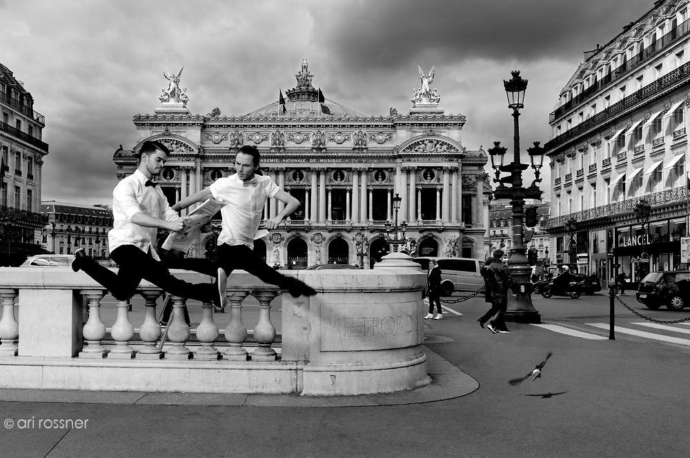 Les Grands Ballets Canadiens de Montr&eacute;al                      Dancer: Emilie Fondanesche<br /> Dancer: Ruben Julliard<br /> Dancer: Esabelle Chen<br /> Dancer: Andy Wright<br /> Dancer: Vera Kvarcakova
