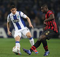 20120216: PORTO, PORTUGAL – UEFA Europa League 2011/2012 - 1/16 Final - 1st Leg: FC Porto vs Man. City.<br /> In photo: JAMES RODRIGUEZ.<br /> PHOTO: PEDRO PEREIRA/CITYFILES