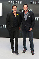 Jason Isaacs, James Purefoy, The Legend of Tarzan - European film premiere, Leicester Square, London UK, 05 July 2016, Photo by Richard Goldschmidt
