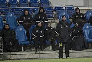 FODBOLD: Christian Lønstrup (FC Helsingør) under kampen i ALKA Superligaen mellem Randers FC og FC Helsingør den 28. februar 2018 på BioNutria Park Randers. Foto: Claus Birch.
