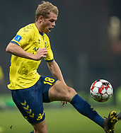 FODBOLD: Nikolai Laursen (Brøndby IF) under kampen i Superligaen mellem Brøndby IF og Randers FC den 24. februar 2019 på Brøndby Stadion. Foto: Claus Birch.