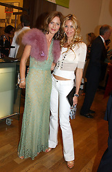 Left to right, TRINNY WOODALL and MELISSA ODABASH at the Royal Academy of Arts Summer Exhibition Preview Party held at Burlington House, Piccadilly, London on 2nd June 2005<br /><br />NON EXCLUSIVE - WORLD RIGHTS