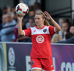 Bristol Academy Women's Loren Dykes - Photo mandatory by-line: Dougie Allward/JMP - Mobile: 07966 386802 - 20/09/2014 - SPORT - FOOTBALL - Bristol - SGS Wise Campus - BAWFC v Arsenal Ladies - FA Womens Super League