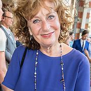 NLD/Amsterdam/20150604 - Koningspaar aanwezig bij de opening van het Holland Festival, Adrienne Kleiweg