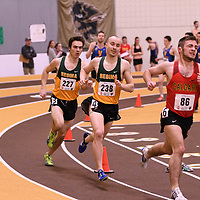 Marc Turmel in action during the 2018 Canada West Track & Field Championship on February  24 at James Daly Fieldhouse. Credit: Arthur Ward/Arthur Images