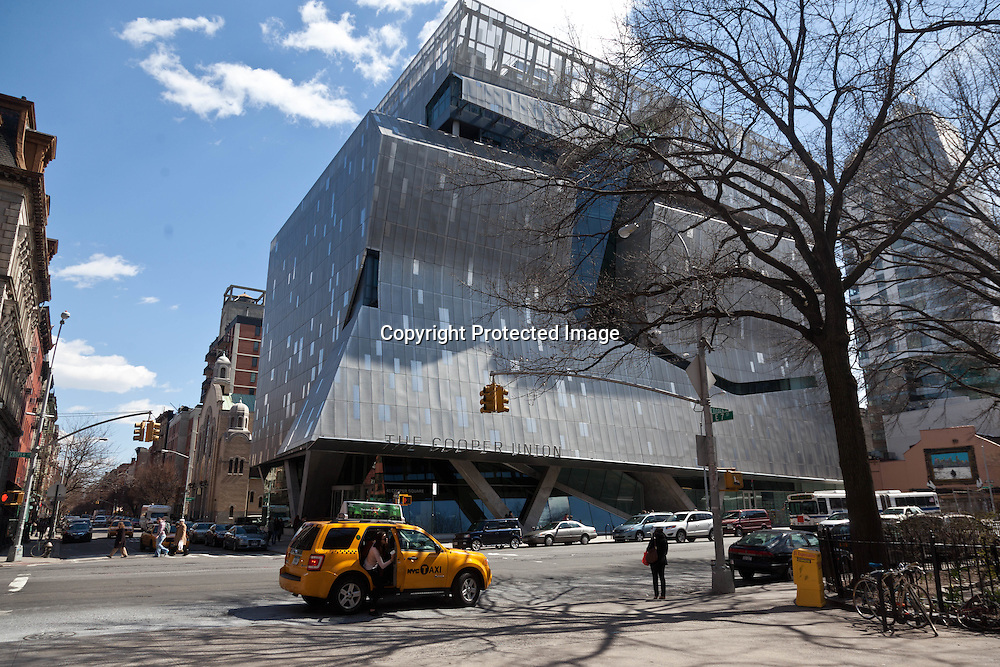 New York , Academic Building for Cooper Union by thom Mayne