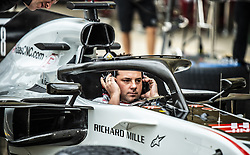 October 20, 2018 - Austin, Texas, U.S - Haas F1 Team pit practice preperation. (Credit Image: © Hoss McBain/ZUMA Wire)