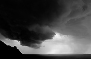 A storm hits the Basque coast. (Ander Gillenea / Bostok Photo)