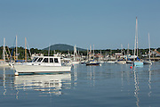Camden, ME - 11 August 2014. Camden Harbor.