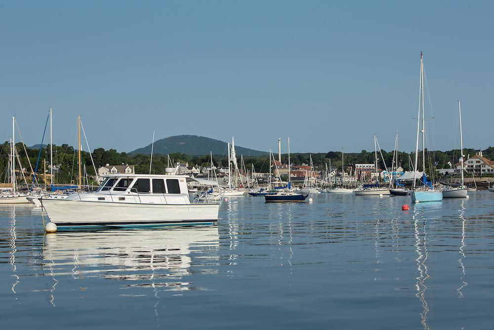 Camden, ME - 11 August 2014. Camden Harbor.