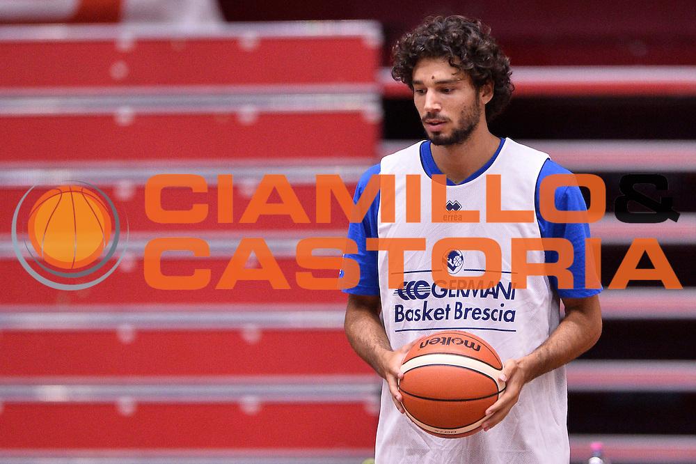 Marco Passera <br /> Germani Basket Brescia allenamento<br /> Lega Basket Serie A 2016/2017<br /> Brescia 24/08/2016<br /> Foto Ciamillo-Castoria