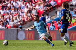 August 5, 2018 - Bernardo Silva of Manchester City during the 2018 FA Community Shield match between Chelsea and Manchester City at Wembley Stadium, London, England on 5 August 2018. (Credit Image: © AFP7 via ZUMA Wire)