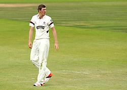 Somerset's Craig Overton - Photo mandatory by-line: Robbie Stephenson/JMP - Mobile: 07966 386802 - 23/06/2015 - SPORT - Cricket - Southampton - The Ageas Bowl - Hampshire v Somerset - County Championship Division One