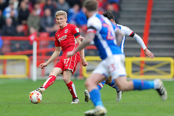 Taylor Moore of Bristol City in action - Rogan Thomson/JMP - 22/10/2016 - FOOTBALL - Ashton Gate Stadium - Bristol, England - Bristol City v Blackburn Rovers - Sky Bet EFL Championship.
