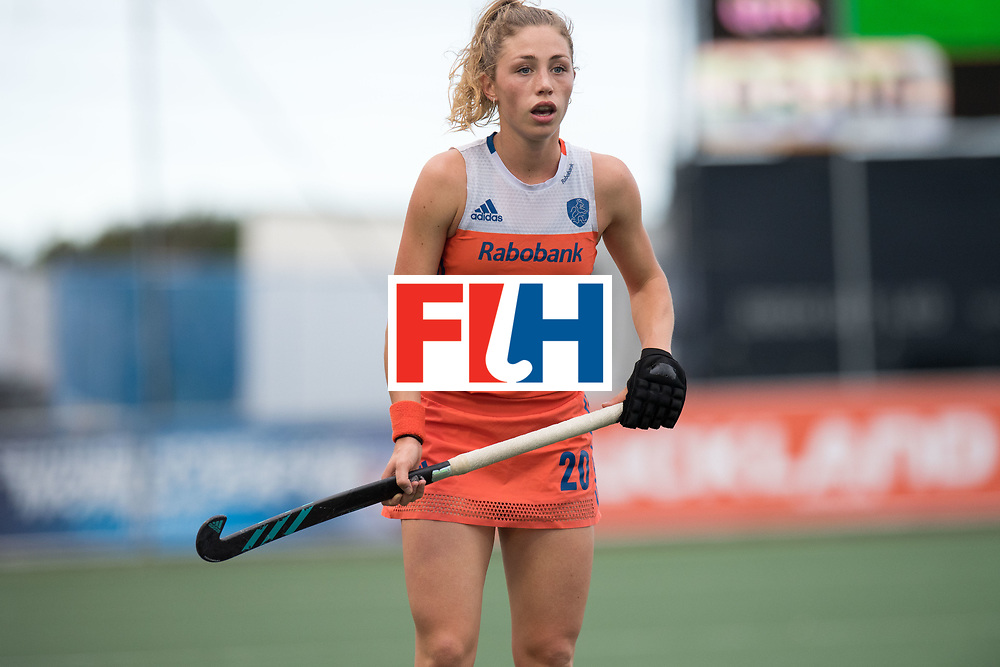 AUCKLAND - Sentinel Hockey World League final women<br /> Match id: 10299<br /> 09 NED v KOR (Pool A)<br /> Foto: Laura Nunnink.<br /> WORLDSPORTPICS COPYRIGHT FRANK UIJLENBROEK
