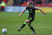 Forest Green Rovers Joseph Mills(23) during the EFL Sky Bet League 2 match between Crewe Alexandra and Forest Green Rovers at Alexandra Stadium, Crewe, England on 27 April 2019.