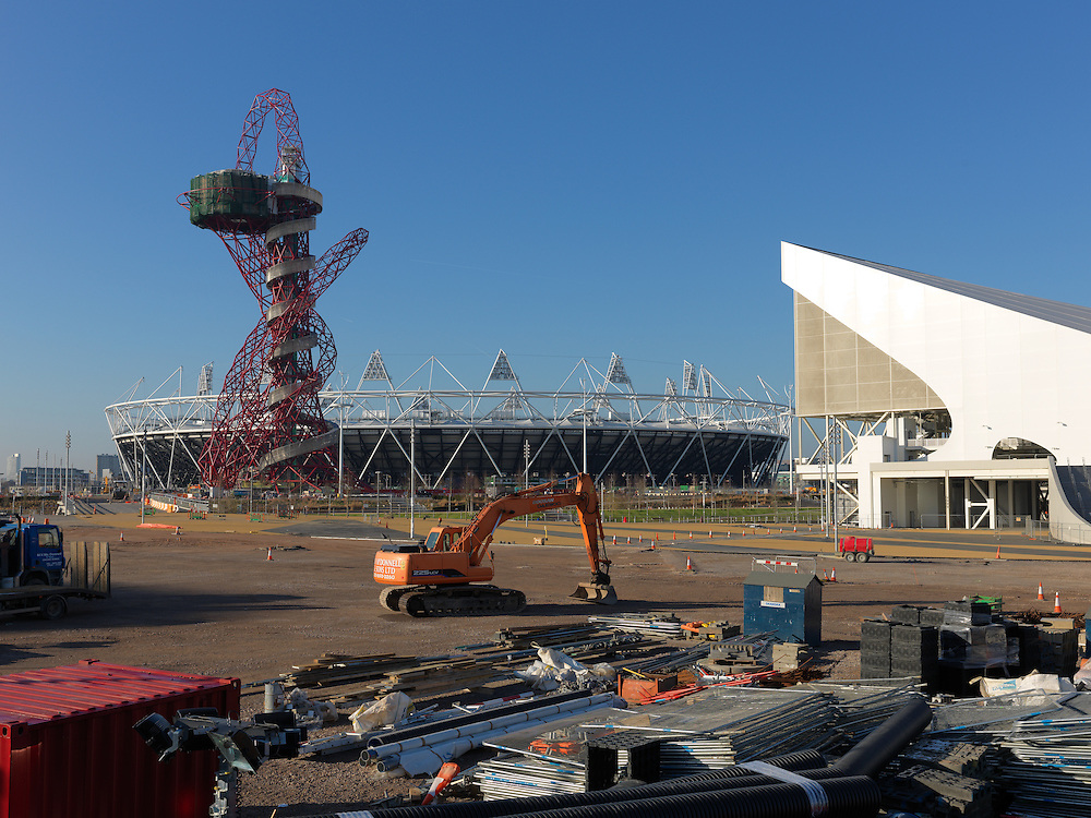 The London 2012 Olympic Park