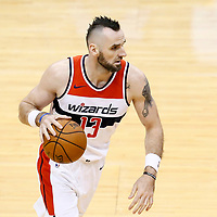 07 December 2017: Washington Wizards center Marcin Gortat (13) drives during the Washington Wizards 109-99 victory over the Phoenix Suns, at the Talking Stick Resort Arena, Phoenix, Arizona, USA.