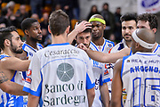 DESCRIZIONE : Beko Legabasket Serie A 2015- 2016 Dinamo Banco di Sardegna Sassari - Obiettivo Lavoro Virtus Bologna<br /> GIOCATORE : Team Lorenzo D'Ercole<br /> CATEGORIA : Fair Play Ritratto Delusione Postgame<br /> SQUADRA : Dinamo Banco di Sardegna Sassari<br /> EVENTO : Beko Legabasket Serie A 2015-2016<br /> GARA : Dinamo Banco di Sardegna Sassari - Obiettivo Lavoro Virtus Bologna<br /> DATA : 06/03/2016<br /> SPORT : Pallacanestro <br /> AUTORE : Agenzia Ciamillo-Castoria/L.Canu