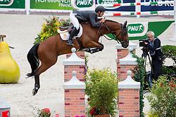 Eduardo Alvarez Aznar, (ESP), Rokfeller De Pleville Bois - Team & Individual Competition Jumping Speed - Alltech FEI World Equestrian Games™ 2014 - Normandy, France.<br /> © Hippo Foto Team - Leanjo De Koster<br /> 02-09-14