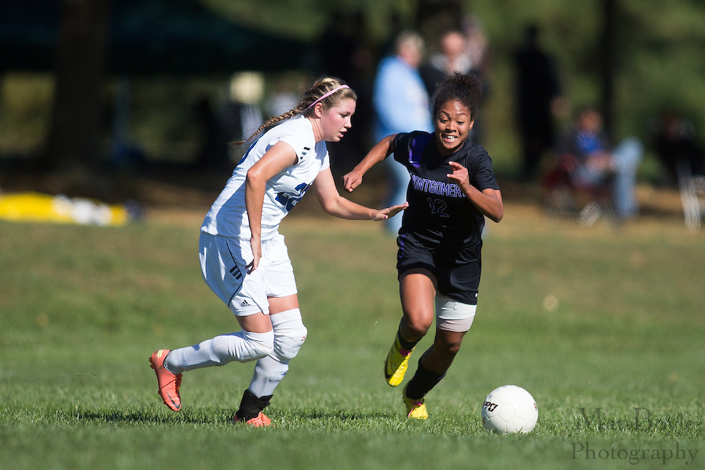 Gloucester County College Women's Soccer hosts Montgomery Rockville County College in Sewell, NJ on Saturday October 13, 2012. (photo / Mat Boyle)