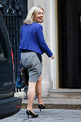 © Licensed to London News Pictures. 04/11/2014. LONDON, UK. Environment Secretary Liz Truss attending to a cabinet meeting in Downing Street on Tuesday 4 November 2014. Photo credit: Tolga Akmen/LNP