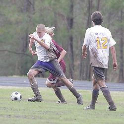 10 January 2009: During the St. Thomas Aquinas Falcons 6-0 win over the Amite Warriors in a soccer match at Falcons Soccer Field in Hammond, LA.