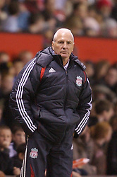 Manchester, England - Thursday, April 26, 2007: Liverpool's Director of Youth Steve Heighway on the touch-line during the FA Youth Cup Final 2nd Leg against Manchester United at Old Trafford. (Pic by David Rawcliffe/Propaganda)
