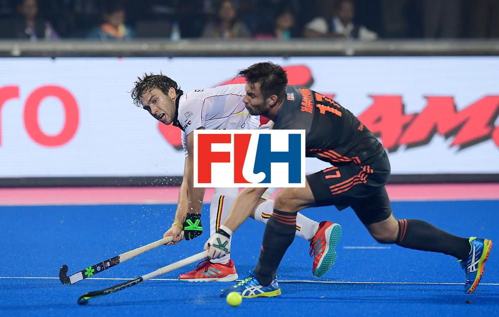Odisha Men's Hockey World League Final Bhubaneswar 2017<br /> Match id:12<br /> Belgium v Netherlands<br /> Foto: Martijn Havenga (Ned) <br /> COPYRIGHT WORLDSPORTPICS FRANK UIJLENBROEK