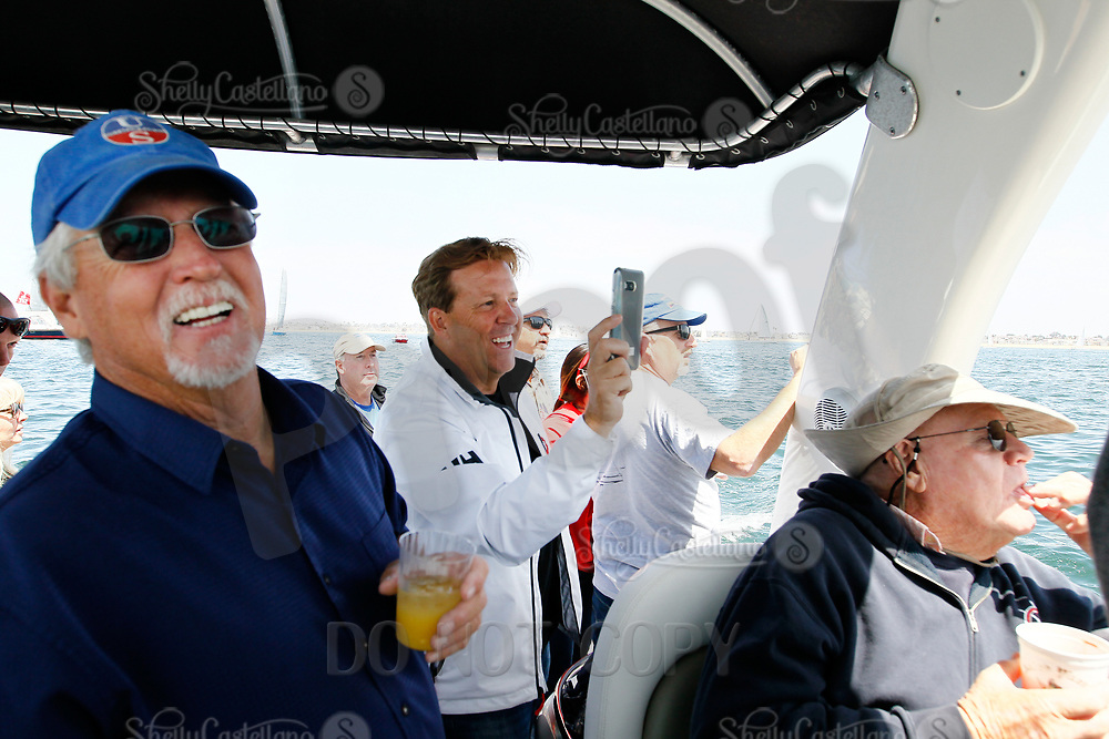 27 April 2018:  71st  Newport to Ensenada, Mexico International Yacht Race in the Pacific Ocean off the coast of Southern California. NOSA