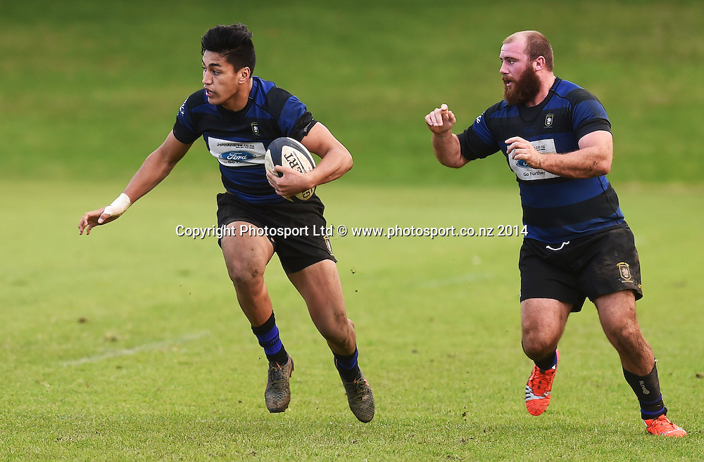University v Ponsonby. Auckland Premier Club Rugby. Alan McEvoy Memorial Shield. Auckland, New Zealand. Saturday 6 June 2015. Copyright Photo: Andrew Cornaga / www.Photosport.co.nz