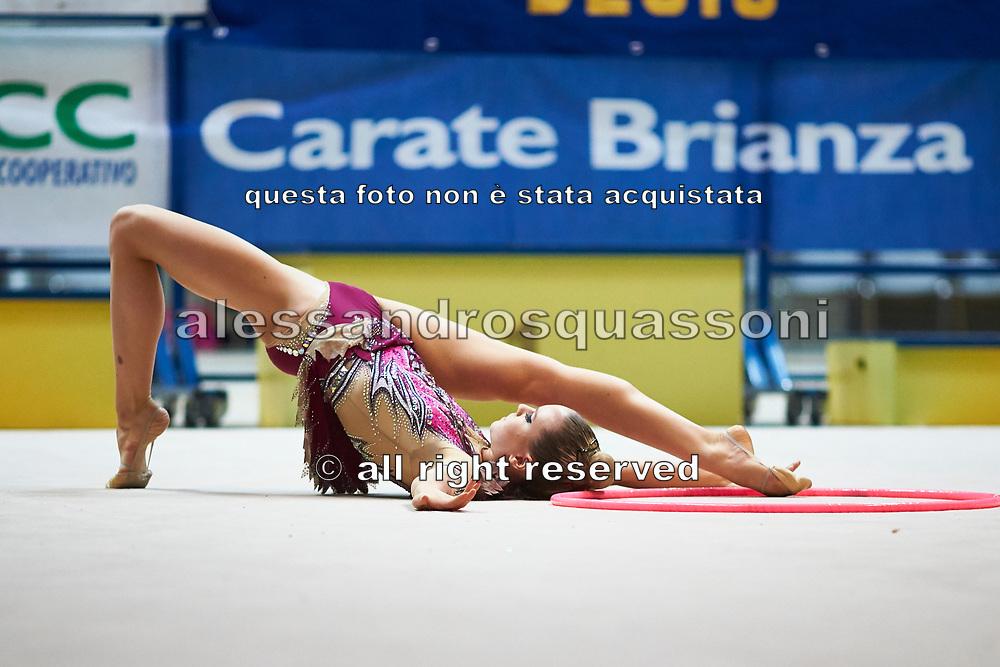 Alessia Gorina of team Italia during a training session in Desio, 08 February 2020.