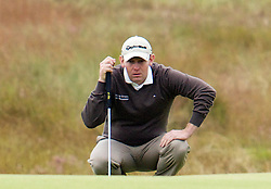 The Aberdeen Asset Management Scottish Open Golf Championship 2012 At Castle Stuart Golf Links..2nd Round Friday 13-07-12.. .Scotland's Stephen Gallacher on 18, during the 2nd Round of The Aberdeen Asset Management Scottish Open Golf Championship 2012 At Castle Stuart Golf Links. The event is part of the European Tour Order of Merit and the Race to Dubai....At Castle Stuart Golf Links, Inverness, Scotland...Picture Mark Davison/ ProLens PhotoAgency/ PLPA.Friday 13th July 2012.