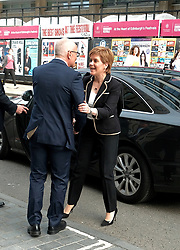 Theresa May meets with Nicola Sturgeon in Edinburgh, Tuesday 7th August 2018<br /> <br /> Pictured: Nicola Sturgeon<br /> <br /> Alex Todd | Edinburgh Elite media