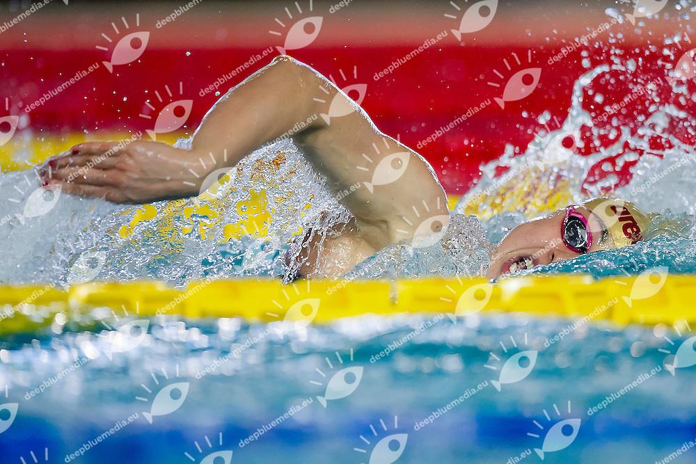 Diletta Carli<br /> Fiamme Oro<br /> 400 Stile Libero<br /> Stadio del Nuoto Riccione<br /> Campionati Italiani Nazionali Assoluti Nuoto Primaverili Fin <br /> Riccione Italy 19-04-2016<br /> Photo Andrea Masini/Deepbluemedia/Insidefoto
