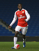 Arsenal defender Glen Kamara during the Barclays U21 Premier League match between Brighton U21 and Arsenal U21 at the American Express Community Stadium, Brighton and Hove, England on 30 November 2015. Photo by Bennett Dean.