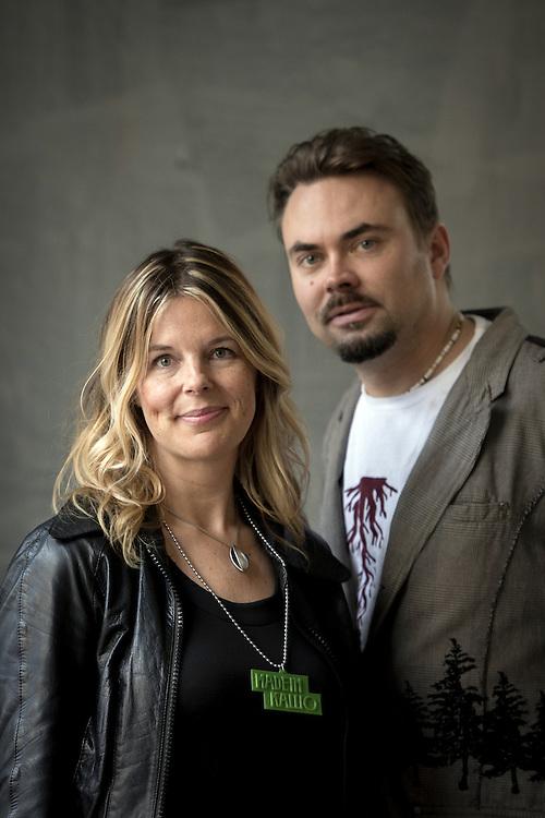 Helsinki, Finland 8 October 2012<br /> Mia Lehti and Jon Sundell, founders of Made in Kallio.<br /> Photo: Ezequiel Scagnetti &copy; European Union