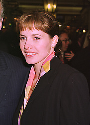 Ballerina DARCEY BUSSELL, at a party in London on 29th April 1998. MHG 19