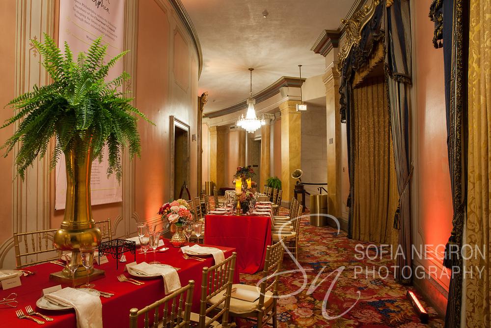 New York event photographer Sofia Negron Philadelphia Opera Gala 2017