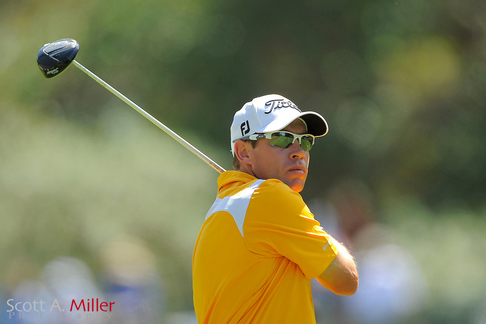 Brian Davis during the final round of the Transitions Chapionship on the Cooperhead Course at Innisbrook Resort and Golf Club on March 18, 2012 in Palm Harbor, Fla. ..©2012 Scott A. Miller.