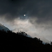 Moonrise over YuShan Mountain Range, Takanua Village, Ming Shen, Namasiya Township, Kaoshiung County, Taiwan