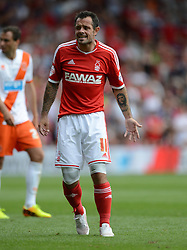 Nottingham Forest's Andy Reid - Photo mandatory by-line: Alex James/JMP - Mobile: 07966 386802 09/08/2014 - SPORT - FOOTBALL - Nottingham - City Ground - Nottingham Forest v Blackpool - Sky Bet Championship - First game of the season