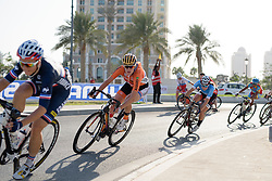 Ellen van Dijk (NED) at the 134 km Elite Women's Road Race, UCI Road World Championships 2016 on 15th October 2016 in Doha, Qatar. (Photo by Sean Robinson/Velofocus).