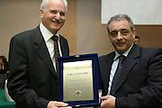 Montesilvano, 19 marzo 2005<br /> XL Assemblea Generale Montesilvano 2005<br /> Foto Ciamillo<br /> paolo troncarelli, gaetano larocca